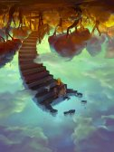 Down to the Clouds and Collect Sky from a Well by Tiesei
