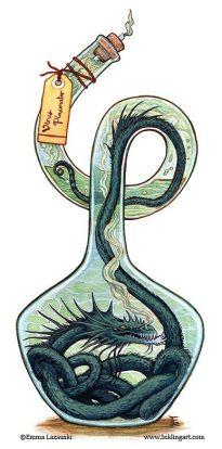 Dragon in a Bottle - Emma Lazauski