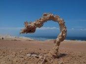 Sand Struck by Lightning by Ken Smith