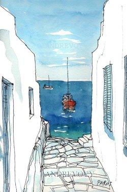 Paros Boat - Andre Voyy